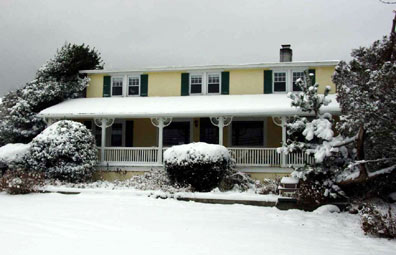 winter exterior