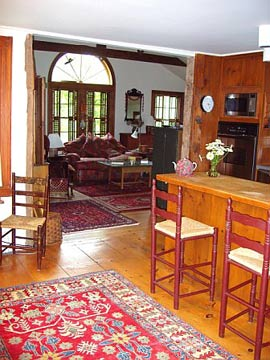 Great Room From The Country Kitchen