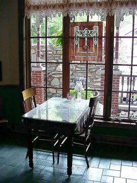 Angel at Rose Hall, Eureka Springs, AK,  The Perfect Spot For Your Romantic Breakfast For Two