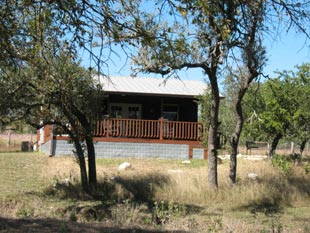 The Katy Cabin-exterior view