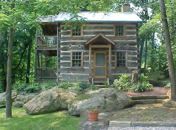 Hisrich Hills House Bed & Breakfast and ArtFarm 1820 Log House