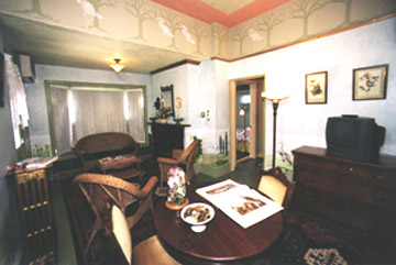The Audubon Suite Sitting Room