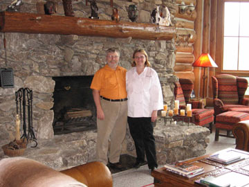 Ken and Glenda Cahill, Owners/Innkeepers