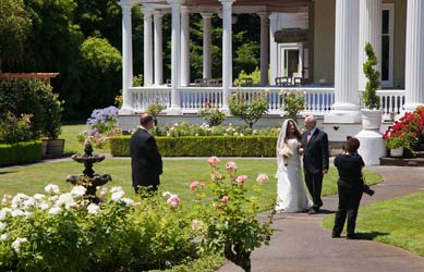 Churchill Manor Bed and Breakfast, The Most Beautiful California Wedding & Special Event Venue