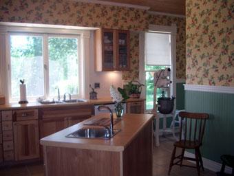 Tryon Farm Guest House Kitchen