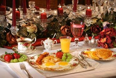 Oakenwald Terrace breakfast