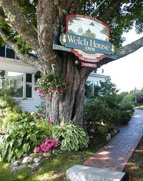 The Welch House Inn - Boothbay Harbor, Maine