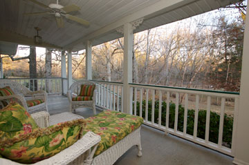 Relax on the Spacious Porch