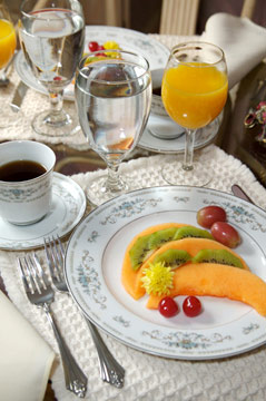 Enjoy A Delicious Breakfast