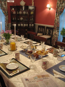 Farnam Guest House- A Delicious Breakfast Each Morning