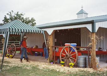 Event Barn - Outdoor Buffet