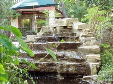 Creekhaven InnWaterfalls abound