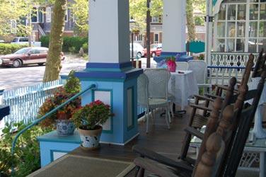 The Harrison Inn, Veranda