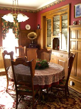 Richly Paneled Formal Dining Room