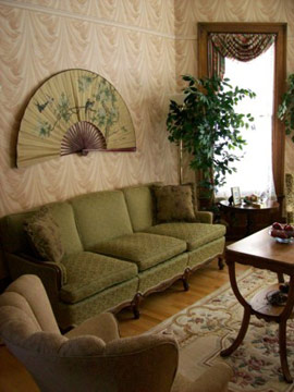 Or Relax in the Parlor