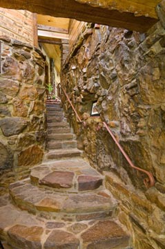 Cedar Rock Original Stairwell
