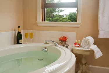 Romantic Deep Oval Saoking Tub