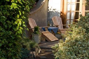 Arch Cape Inn and Retreat, Private Patio