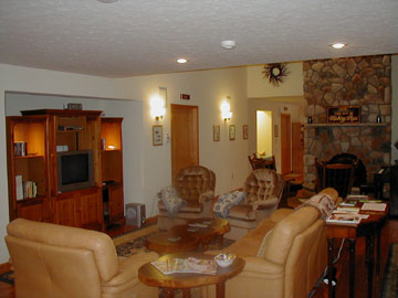 The Inn at Hickory Run, Living Room