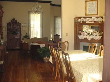Columbiana Inn Dining Room & Common Room
