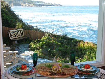 An Ocean Paradise Whales Rendezvous-Breakfast With A View