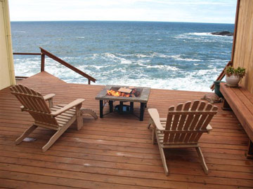 The Sea Rose Suite Private Deck