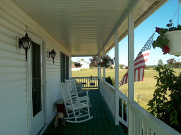 Relax on Our Large Porches