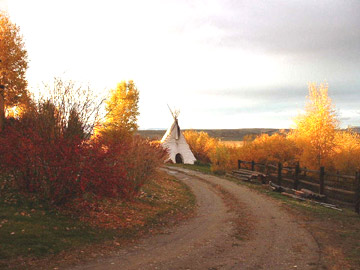 Pole Creek Ranch, tepee