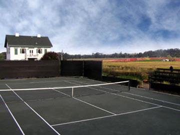 Flora Vista Inn-Tennis Court