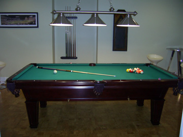 Maria's Love Point Bed & Breakfast, Game Room