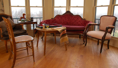 The Catskill Suite Sitting Room