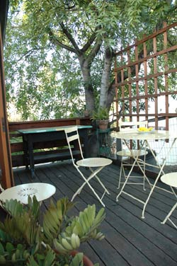 Micasa Temporary Lodging patio