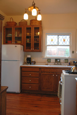 Micasa Temporary Lodging kitchen