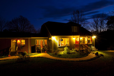 Arcady Vineyard Bed & Breakfast, front view