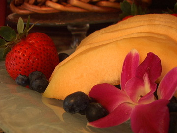 Hillcrest House Bed & Breakfast, Fresh Fruit