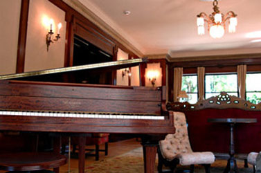 The Shafer Baillie Mansion, Piano