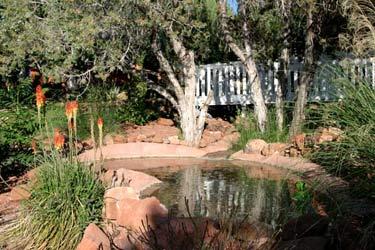 A Sunset Chateau B&B, Pond