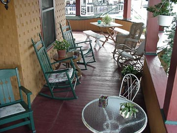 The Sea Gypsy Bed & Breakfast - Wildwood, New Jersey,patio