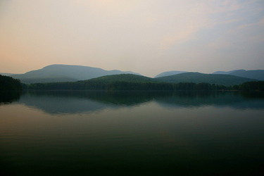 Coopers Lake, near Woodstock, Catskill Mountains