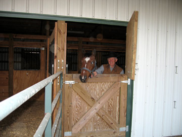 Two Horse Stalls &amp; 70 Acres of Meadows