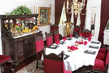 Buhl Mansion Guesthouse & Spa-The Formal Dining Room