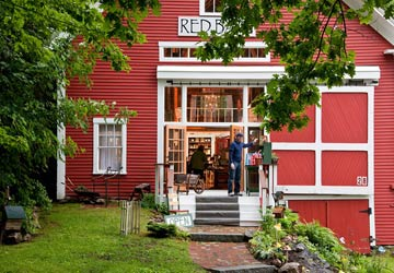 Squam Lake Inn, The Red Barn