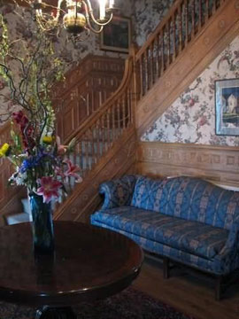 The Elms Bed & Breakfast staircase
