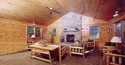 The Glen Lodge-Common area