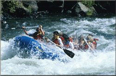 The Glen Lodge-Rafting