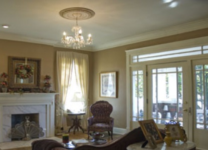Magnolia House Bed & Breakfast, living room