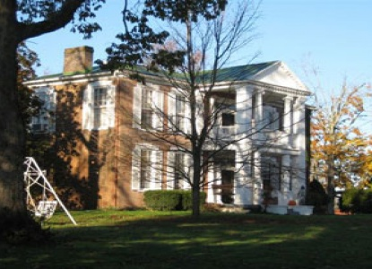 Historic bed & breakfast lodging in Lebanon, KY on the Bourbon Trail near Makers Mark Distillery and Gethsemani Abbey.