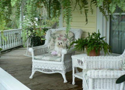 Duck Smith House porch