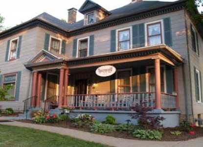 An 1899 award winning inn that has played host to many famous guests  in Fulton's Historic Brick District.