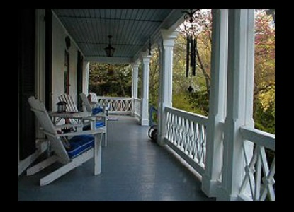 The Wilderness Bed and Breakfast, patio
